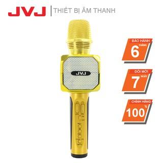 Micro kèm loa Bluetooth Karaoke JVJ SD - 10 không dây