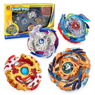 New 4 in 1 Beyblade Set Toys Burst Starter Beyblade Metal Fusion With Launcher