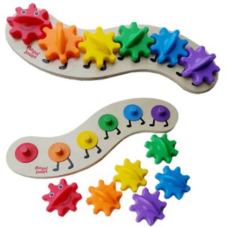 Đồ chơi Chú sâu chuyển động (khớp bánh răng), đồ chơi chuyển động