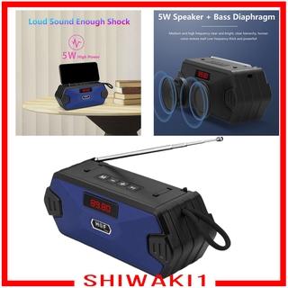 Loa Bluetooth Không Dây Shiwaki1 Tích Hợp Fm Radio Aux Tf Mp3 Và Phụ Kiện