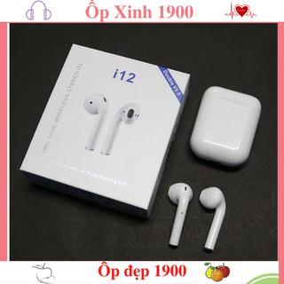 Tai Nghe Bluetooth Airpod i12 TWS Cảm Biến Vân Tay (có Ảnh + Video)