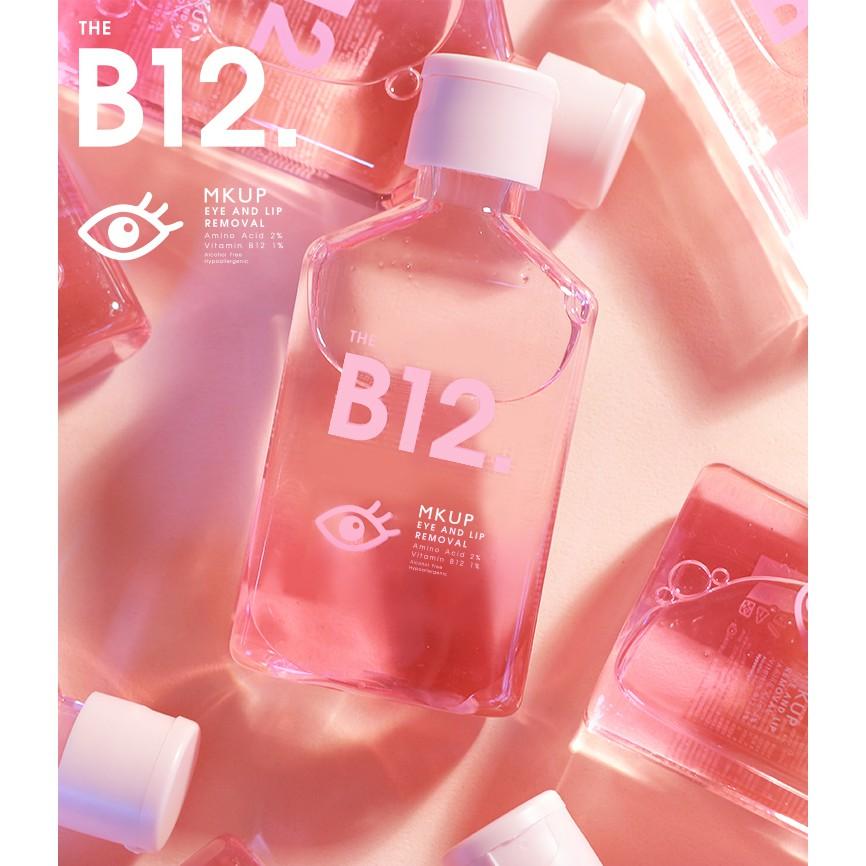 Tinh chất tẩy trang mắt môi chuyên biệt MKUP B12 Serum eye and lip remover 150ml