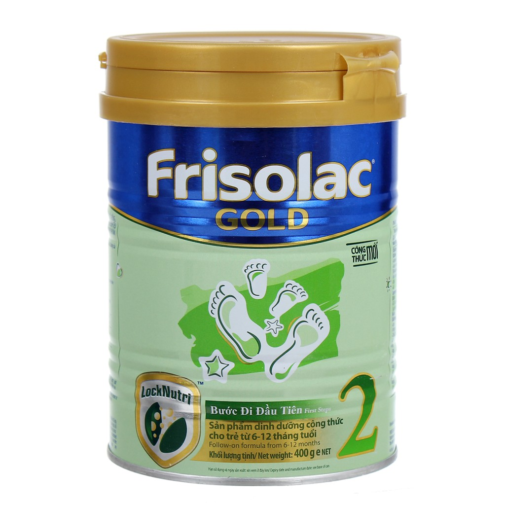 Sữa bột Frisolac Gold 2 900g ( 6 - 12 tháng tuổi )