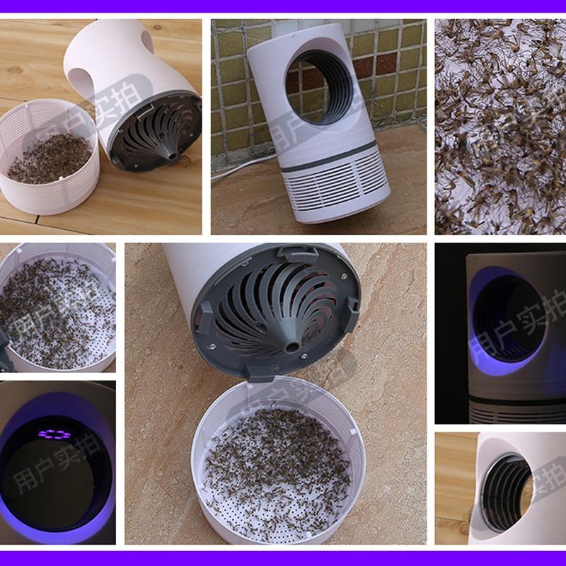 ♻️Đèn ngủ♻️ Đèn Ngủ Bắt Muỗi An Toàn- Hiệu Quả -Yên Tĩnh Công nghệ Vot bắt muỗi diệt muỗi Mosquito killer lamp