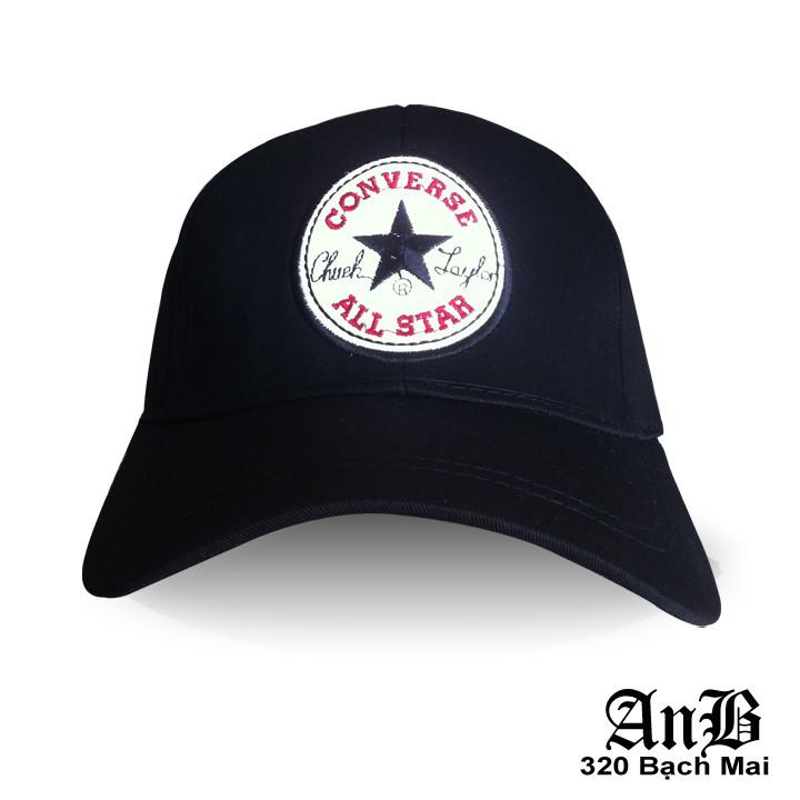 Mũ Converse đen