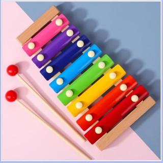 [Mẹ và bé] Đồ chơi đàn gỗ Xylophone 8 Quãng Cho Bé ( Loại Thường)
