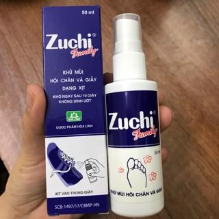 Khử mùi hôi chân và giầy dạng xịt ZUCHI FAMILY thumbnail