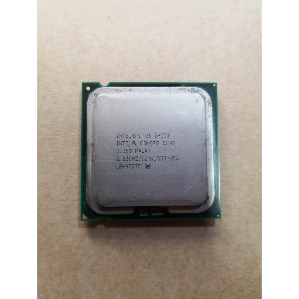 CPU 775 Core2 Quad Q9550 Giá chỉ 450.000₫