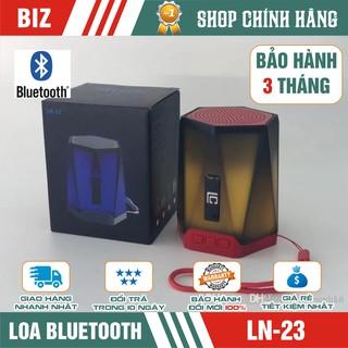 [Mã ELFLASH5 giảm 20K đơn 50K] Loa Bluetooth mini LN-23 Bass cực đỉnh LED đổi mầu - Bảo hành 3 tháng!!!
