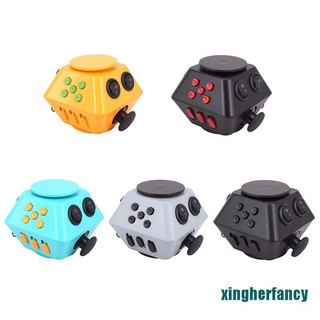 XYCC Spinner Cube Antistress Magic Stress Cube Relieve Anxiety Boredom Finger Cube XJSS