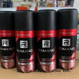 Yêu ThíchXịt Khử Mùi Toàn Thân Romano Attitude ( mầu đỏ )