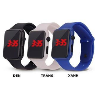 Đồng hồ đeo tay màn hình LED dây silicone