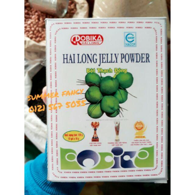 12 gói Bột rau câu dẻo Hải Long jelly powder , 10g/ gói - 10029891 , 275066476 , 322_275066476 , 84000 , 12-goi-Bot-rau-cau-deo-Hai-Long-jelly-powder-10g-goi-322_275066476 , shopee.vn , 12 gói Bột rau câu dẻo Hải Long jelly powder , 10g/ gói