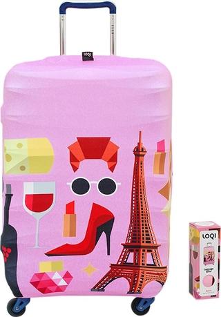 Túi Bọc Vali Hình Paris Loqi (58 x 65 cm) thumbnail
