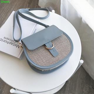 Senior sense of the ocean handbags in the summer on the new shoulder Messenger bag new 2019ins fashion simple saddle bag