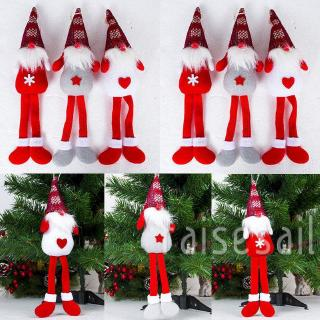 Rs♪-Christmas Santa Angel Doll Hanging Pendant Ornament Tree Decoration Xmas Gift.sunny