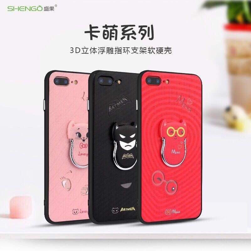 Ốp iPhone 6 Plus/6s Plus kèm iRing-hiệu Shengo - 2654941 , 469474235 , 322_469474235 , 120000 , Op-iPhone-6-Plus-6s-Plus-kem-iRing-hieu-Shengo-322_469474235 , shopee.vn , Ốp iPhone 6 Plus/6s Plus kèm iRing-hiệu Shengo