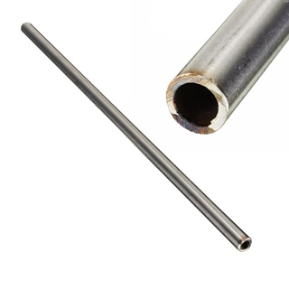 1pc New Silver 304 Stainless Steel Capillary Tube 12mm Od 10mm Id 250mm