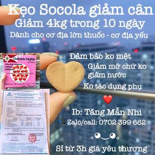 ❤️ [CHÍNH HÃNG] Kẹo Socola giảm cân Đan Mạch Chokolade Vaegttab Slimming Care lẻ 10 viên ❤️