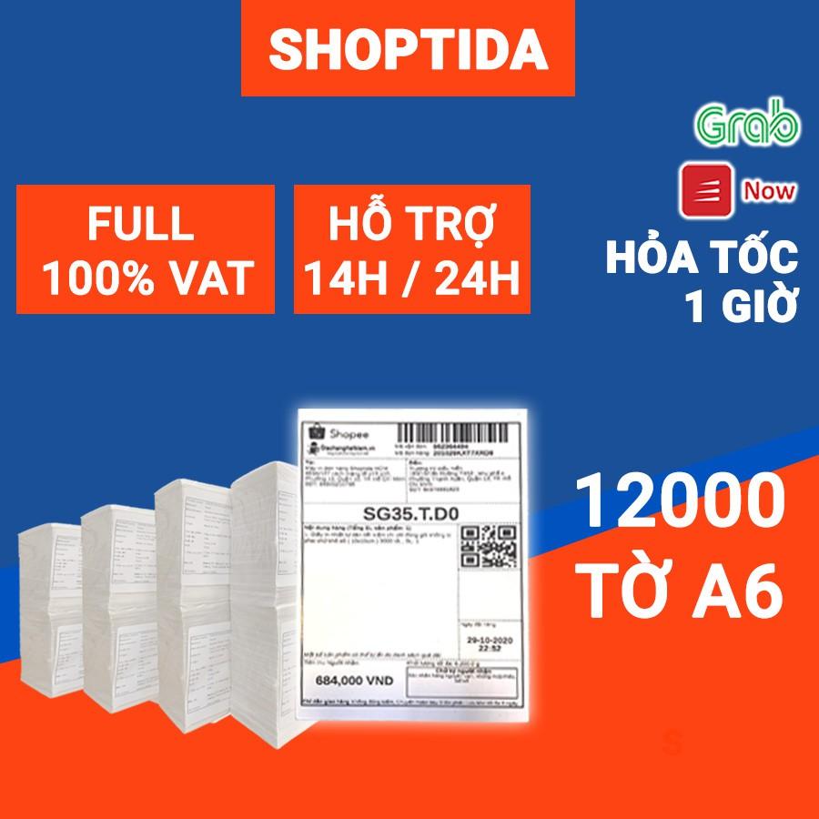 Giấy in nhiệt Shoptida 12000 tờ A6 10 15cm 3 lớp tự dán chống nước, sử dụng cho máy in nhiệt Shoptida SP46 thumbnail