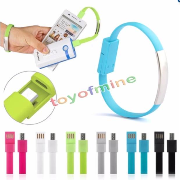 Bộ 2 Cáp sạc điện thoại samsung Vòng đeo tay thời trang - 2786547 , 516805635 , 322_516805635 , 36000 , Bo-2-Cap-sac-dien-thoai-samsung-Vong-deo-tay-thoi-trang-322_516805635 , shopee.vn , Bộ 2 Cáp sạc điện thoại samsung Vòng đeo tay thời trang