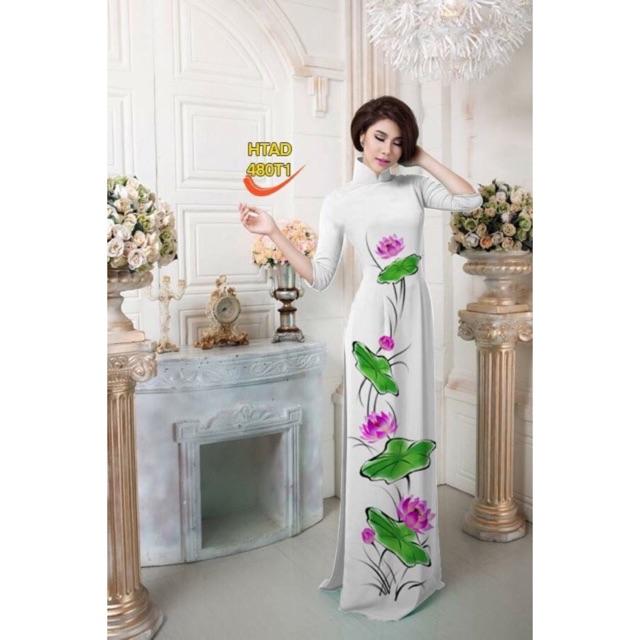 Vải áo dài hoa sen - 3029548 , 963254786 , 322_963254786 , 220000 , Vai-ao-dai-hoa-sen-322_963254786 , shopee.vn , Vải áo dài hoa sen