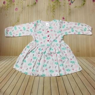 Váy carter bé gái dài tay size to 1-7T hàng đẹp chuẩn size bỏ shop