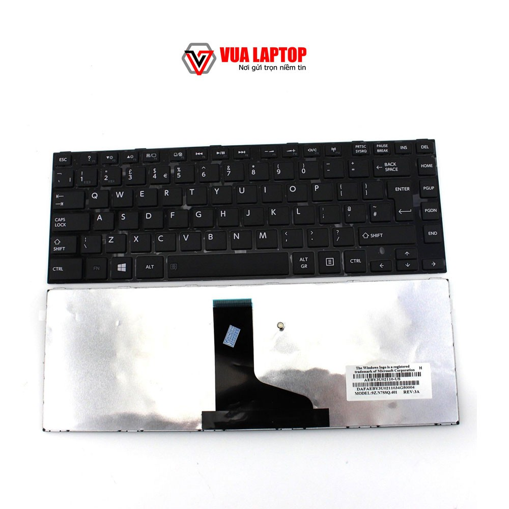 Bàn phím laptop Toshiba M800 M805 L840 L845 C840 L800 C800 C845 C840 L835 L840 L840D L845 L845D C700 C800