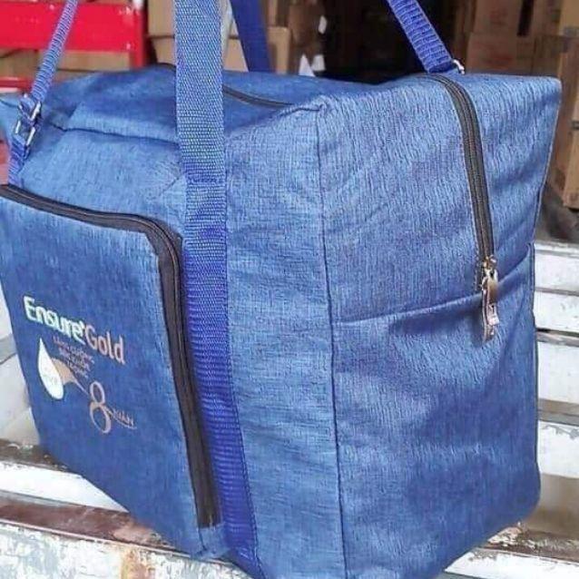 Túi du lịch quà tặng ensure kích thước 40×22×35cm