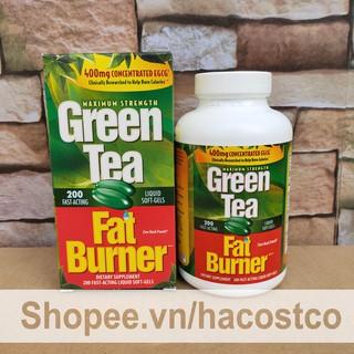 Viên uống Trà Xanh Applied Nutrition Green Tea Fat Burner Maximum Strength With 400 mg 200 viên - Hỗ trợ giả thumbnail