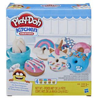 Đất nặn Play-Doh bánh doughnut sắc màu