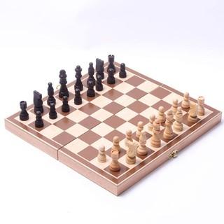 Bàn cờ vua gỗ hộp cờ vua