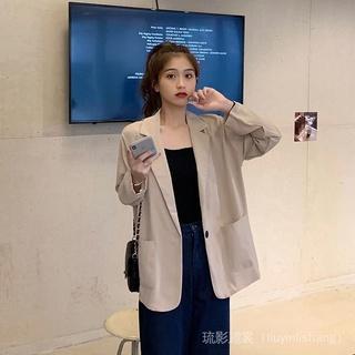 Áo khoác vest màu sắc thanh lịch thời trang mùa thu cho nữ 2021