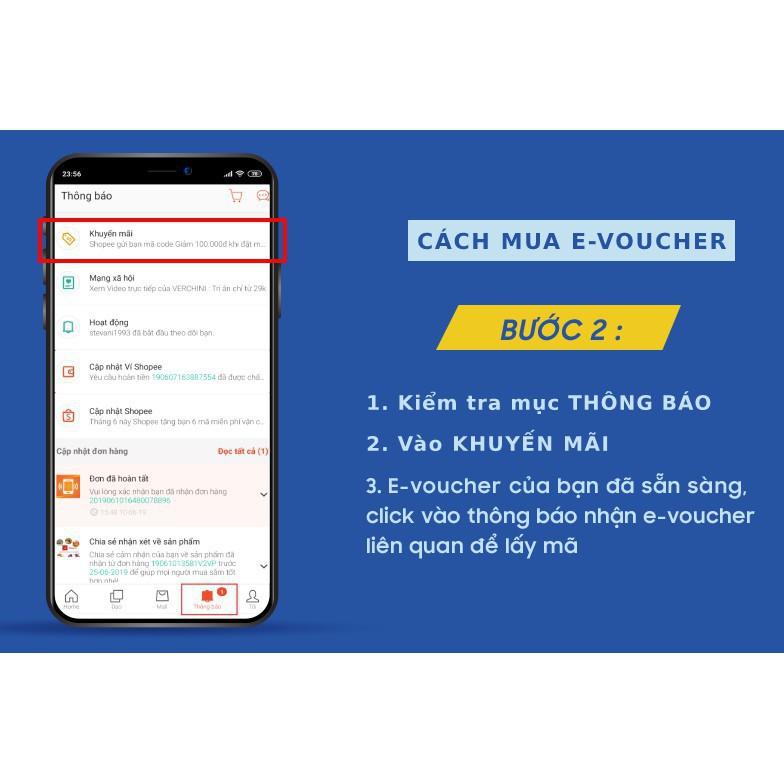 Toàn quốc [E-voucher] Mã Quà Tặng Shopee 15.000đ (Nạp thẻ và Dịch vụ, trừ Hoá đơn vay tiêu dùng) - Chỉ Thanh Toán AirPay