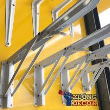 ❤️FREESHIP❤️ Bộ 2 bản lề gập thông minh - Bản lề gấp gọn treo tường tải trọng 70kg loại tốt - Bản lề gấp - Ke gập