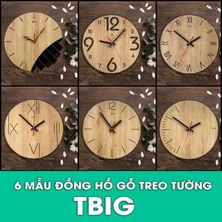 [Độc lạ] 6 Mẫu đồng hồ gỗ treo tường thương hiệu TBIG