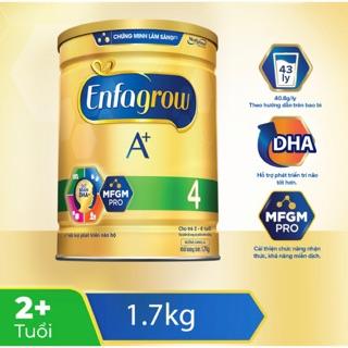 [Date mới T10 2022] Sữa bột Enfagrow A+4 1.7kg thumbnail