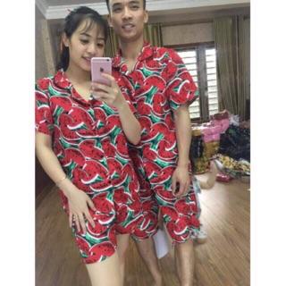 (XẢ KHO) Bộ quần áo hoa quả siêu rẻ cho cặp đôi,nhóm,gia đình
