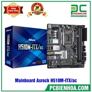 MAINBOARD ASROCK H510M-ITX AC ( CHẠY CPU 10TH VÀ 11TH ) thumbnail