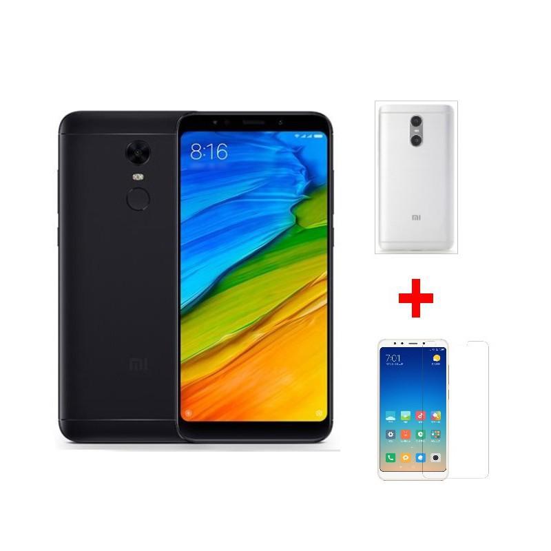 Combo Điện thoại Xiaomi Redmi 5 Plus 32GB + Ốp lưng + Kính cường lực - Hàng nhập khẩu - 2896302 , 1061899224 , 322_1061899224 , 4990000 , Combo-Dien-thoai-Xiaomi-Redmi-5-Plus-32GB-Op-lung-Kinh-cuong-luc-Hang-nhap-khau-322_1061899224 , shopee.vn , Combo Điện thoại Xiaomi Redmi 5 Plus 32GB + Ốp lưng + Kính cường lực - Hàng nhập khẩu