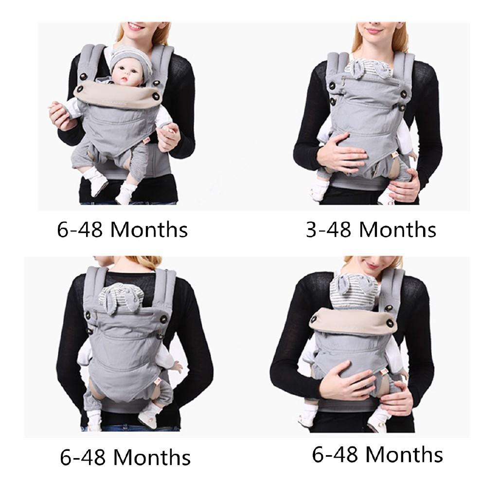 DO∩Đai địu em bé sơ sinh chất liệu thông thoáng