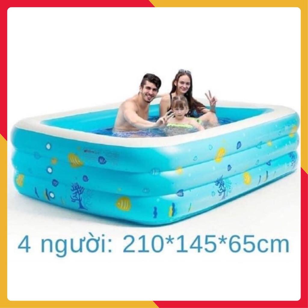 Bể bơi phao 3 tầng 2m1