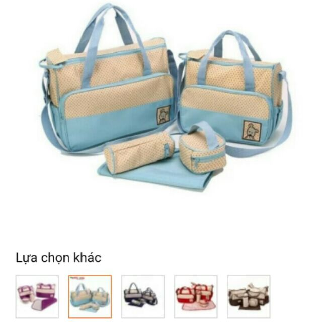 Bộ túi 5 chi tiết cho mẹ và bé - 2870856 , 391103610 , 322_391103610 , 175000 , Bo-tui-5-chi-tiet-cho-me-va-be-322_391103610 , shopee.vn , Bộ túi 5 chi tiết cho mẹ và bé