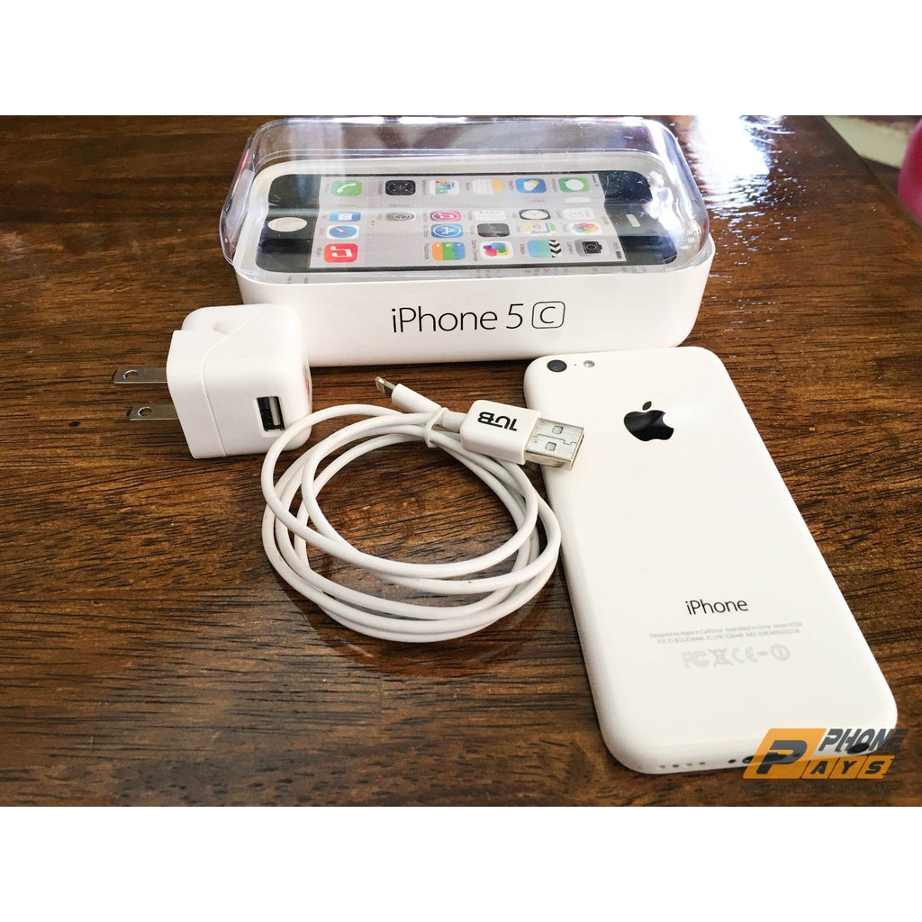 Điện Thoại iPhone 5C QT 16GB + Phụ Kiện + HTBH 1 Năm