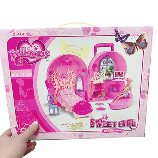 Đồ Chơi Tủ đồ công chúa Sweetgirl DB1678 [SHIP TOÀN QUỐC]