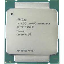 CPU Intel Xeon Processor E5-2678v3 2.50GHz 30M 12Cores