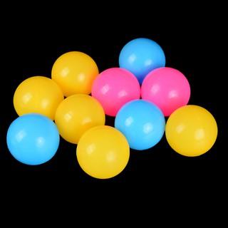 HEL❤❤ 10 quả bóng nhựa đồ chơi cho bé