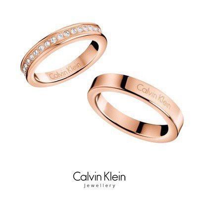 Nhẫn Khắc Chữ Calvin Klein Thời Trang