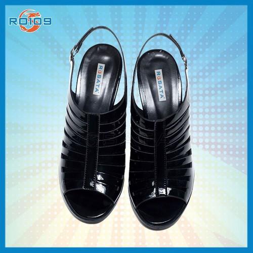 Giày cao gót nữ đẹp cắt lazer thương hiệu rosata ro109.Giày cao gót nữ đẹp cắt lazer thương hiệu rosata ro109.Giày cao g