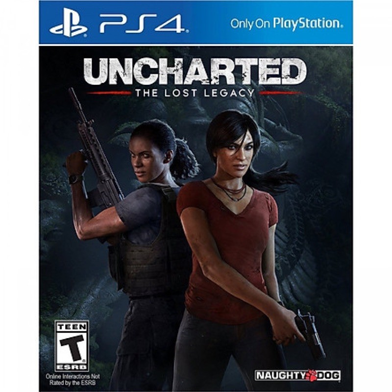 Game PS4 : Uncharted the lost legacy likenew